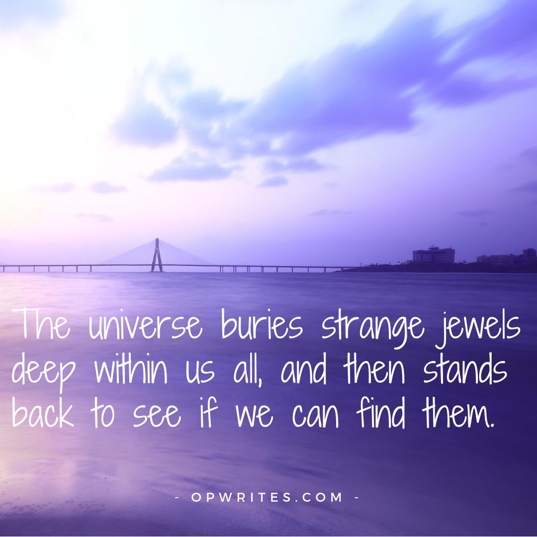 Finding strange jewels